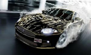Drifted Jaguar