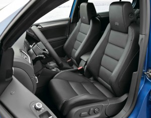 VW Golf-R interior