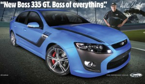 Ford Falcon GT Boss 335