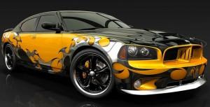Dodge airbrush