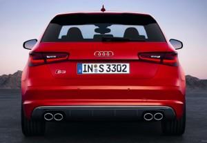 Audi S3 2013 rear