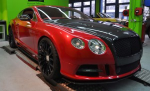 Mansory Contitental GT candy-red