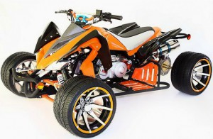 Racing ATV Quad