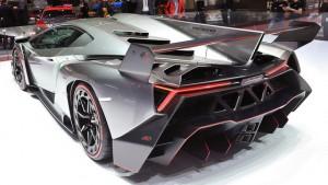 Lamborghini Veneno rear