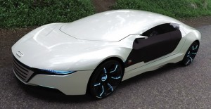 Audi A9 Concept by Garcia