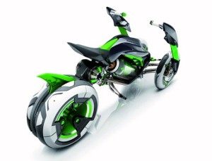 Kawasaki J 3-Wheel Electric Bike