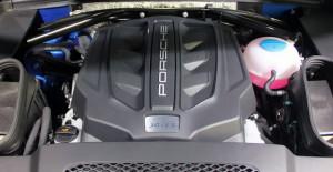 Porsche Macan-S V6 engine