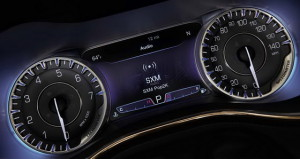 Chrysler 200 Instrument Dash