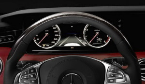 Mercedes-Benz S-Class Coupe interior 2015