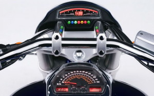 Suzuki Intruder dash board