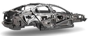 Jaguar XE chassis