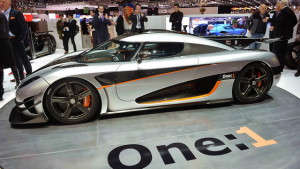Koenigsegg one:1 Geneva Debut