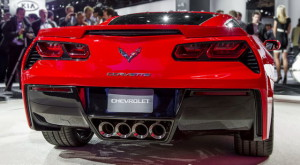 2014 Chevrolet Corvette C7 Stingray rear