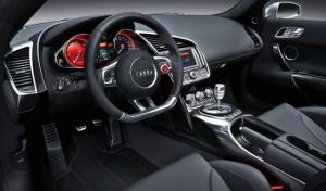 Audi R8 interior