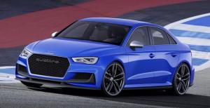 Audi A3 Clubsport quattro front