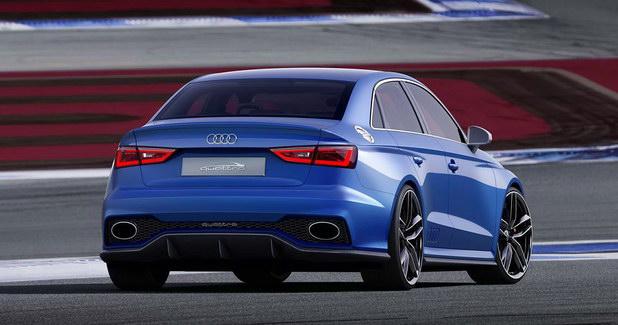 Audi A3 Clubsport quattro rear