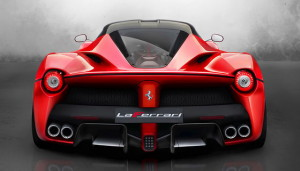 LaFerrari rear