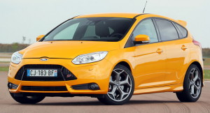 Ford Focus ST old