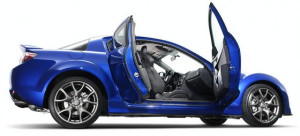 Mazda RX8 side