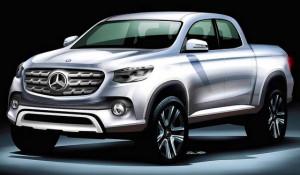 Mercedes-Benz Pick-up van