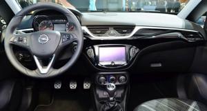 2015 Opel Corsa dashboard