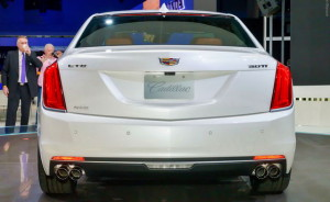 Cadillac CT6 rear