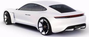 Porsche Mission-E rear
