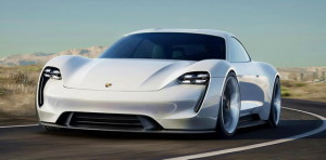 Porsche Mission-E drive